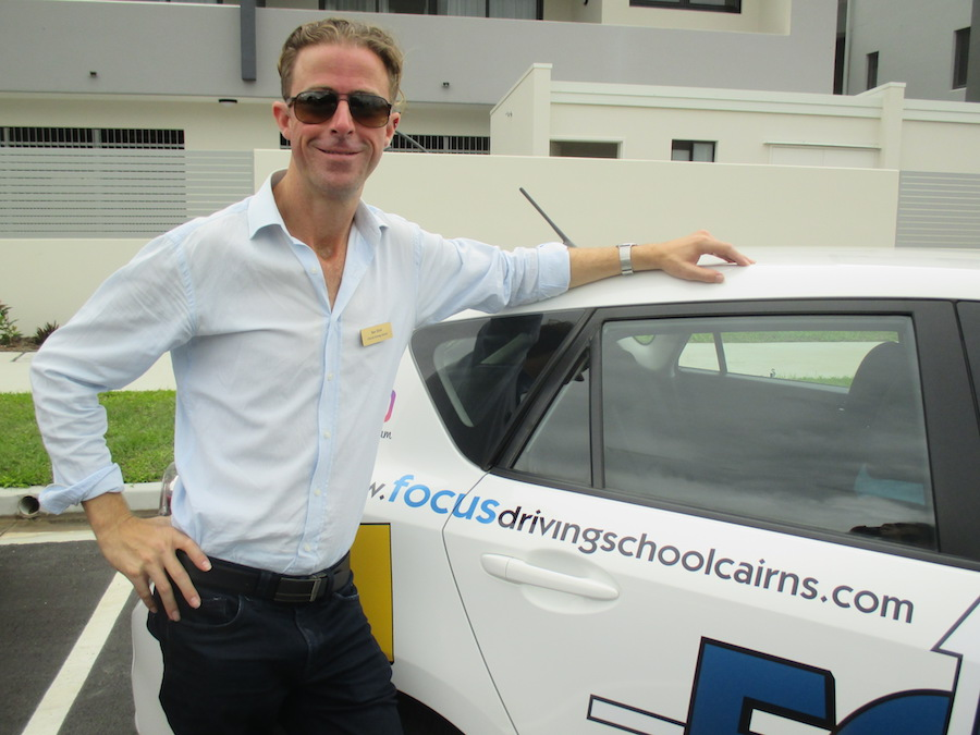 cairns driving instructor
